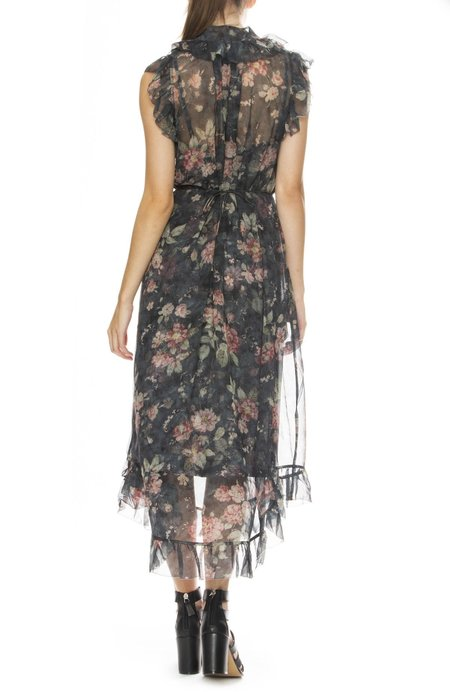 Zimmermann Unbridled Frill Dress