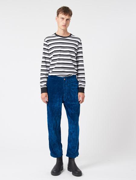 Story Mfg British Jeans - INDIGO VELVET
