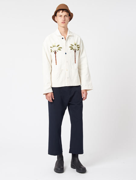 Story Mfg Double Date Short On Time Jacket - Natural
