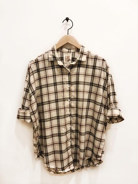 A Shirt Thing Davis Palermo shirt - Ecru