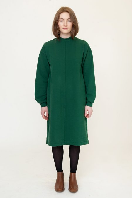 Beaumont Organic Marta Organic Cotton Dress - Evergreen