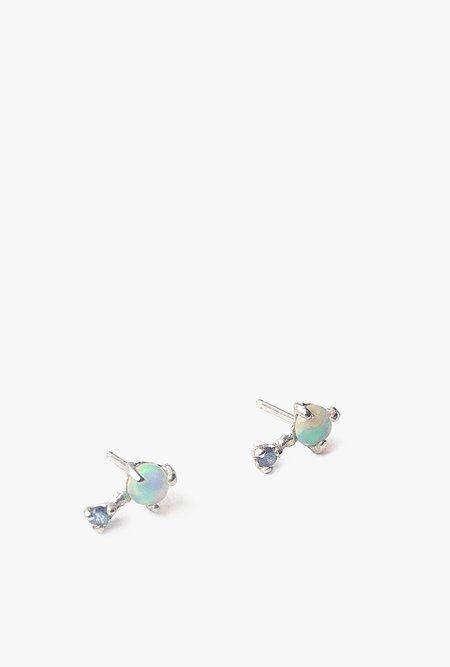 Valley Rose Studio Mira Earrings - 14k White Gold