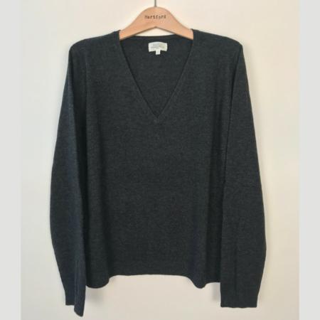 Hartford Minouche Wool & Cashmere Sweater - Green