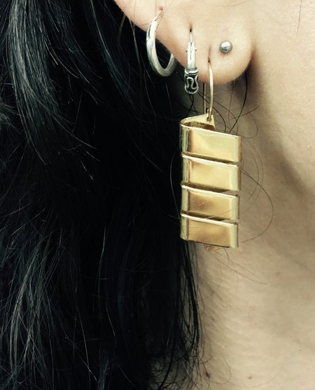 Oblik Atelier Wind Earrings - 14k plated brass