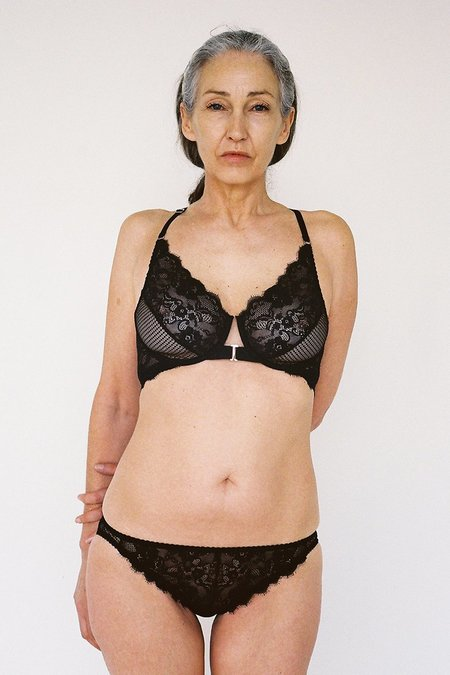 Lonely Lingerie Lydia Underwire Bra - Black