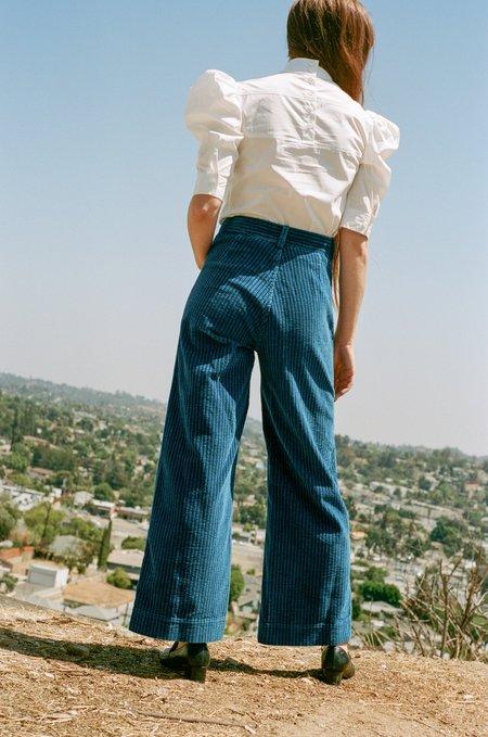 Caron Callahan Stewart Corduroy Pant - True Indigo