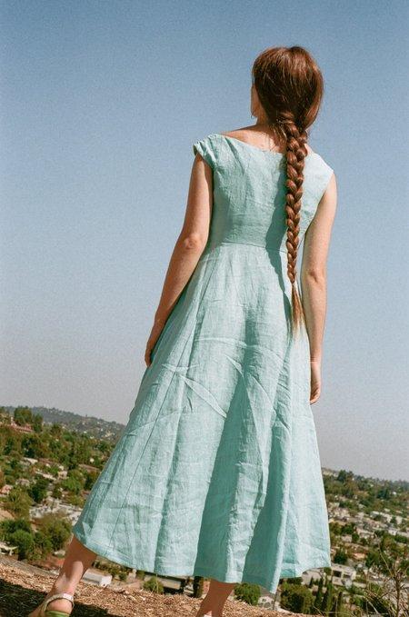 Mara Hoffman Greta Dress - Sky Blue