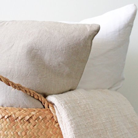 Anara Linen Biscuit Pillow