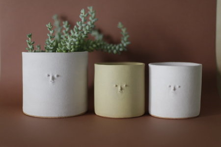 Rami Kim Mini Face Small Planter