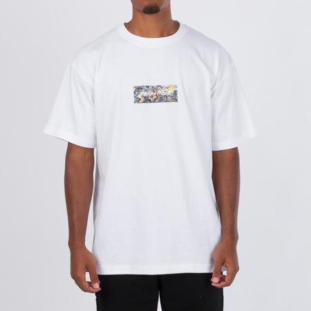 MEDICOM TOY Sync x Jackson Pollock Studio Logo T-shirt - White