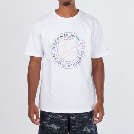 Medicom Toy Medicom X Fragment Design Be@R T-Shirt - White