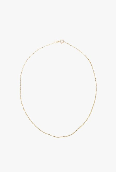 "GJenmi 14"" Neuw Choker - 14k yellow gold"