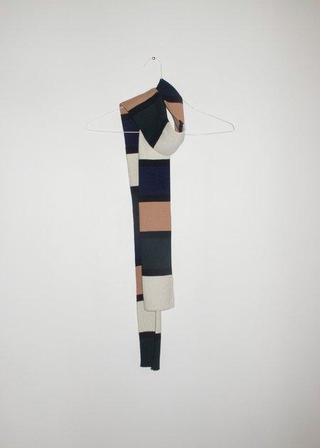 giu giu Nonna Scarf - block stripe
