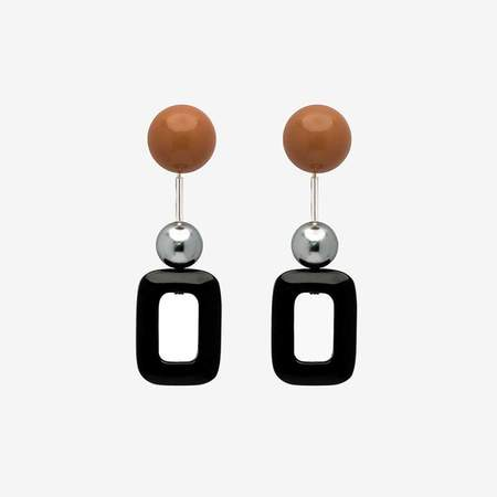 Bae Bae Autumn Onyx Earrings