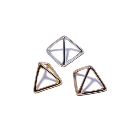 JANE D'ARENSBOURG Metal Double Triangle