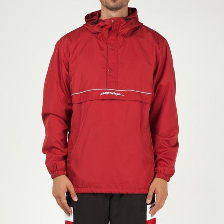 Livestock Pullover Anorak - Red