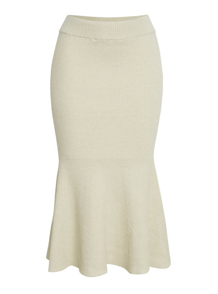 ELEVEN SIX ESTELA SWEATER SKIRT - IVORY