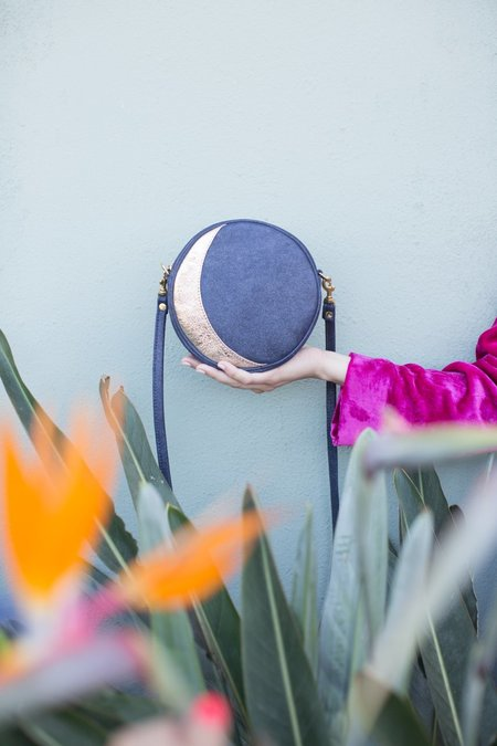 CAB Collection Moon Circle Bag - LUNAR PHASES