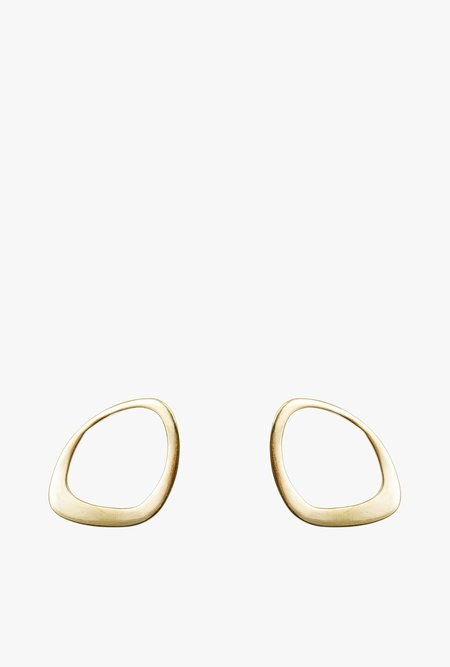 SOKO Open Sabi Stud Earrings - Brass