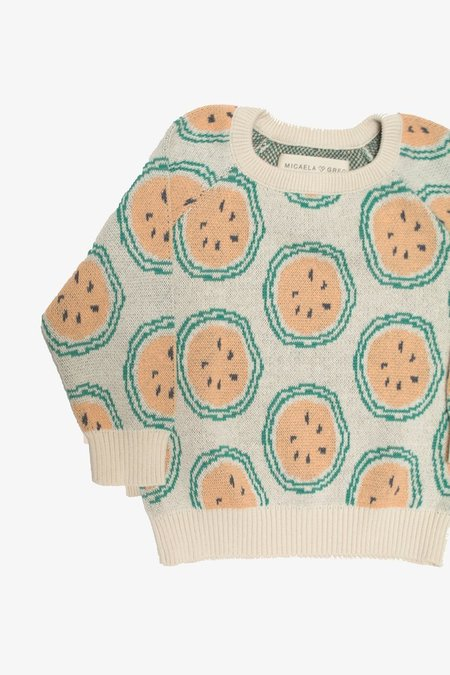 Kids Micaela Greg Melon Pullover Sweater