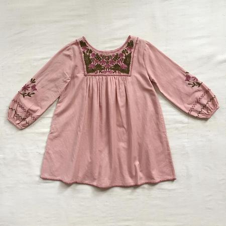 Kids Apolina Francoise Dress - Buckwheat Pink