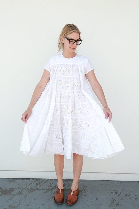 Merlette Okuma Dress - White