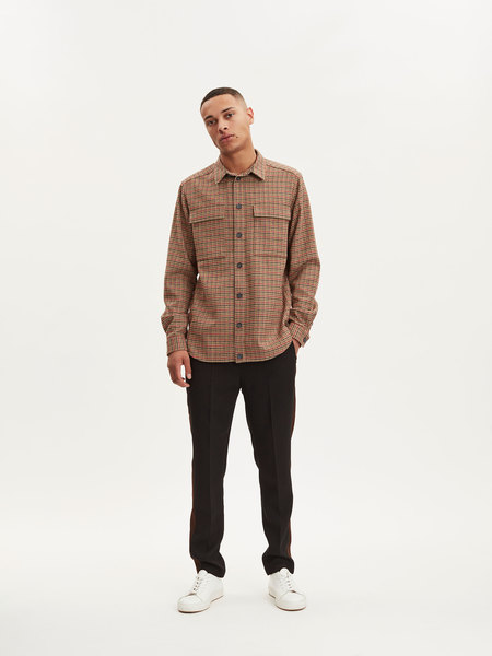 Libertine Libertine Nation Shirt - Red/Navy/Green
