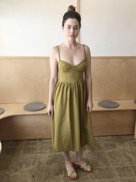 By Signe Moon Dress - Pistachio