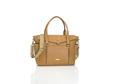 KIDS Storksak Emma Diaper Bag - Tan