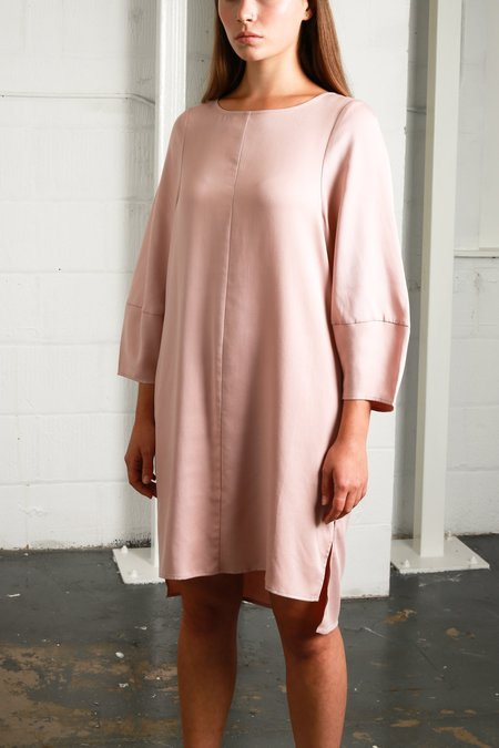 Native Youth Oxford Dress - Dusty Pink