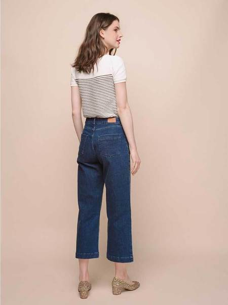 Des Petits Hautsstra Lucy Flat Pocket Jean