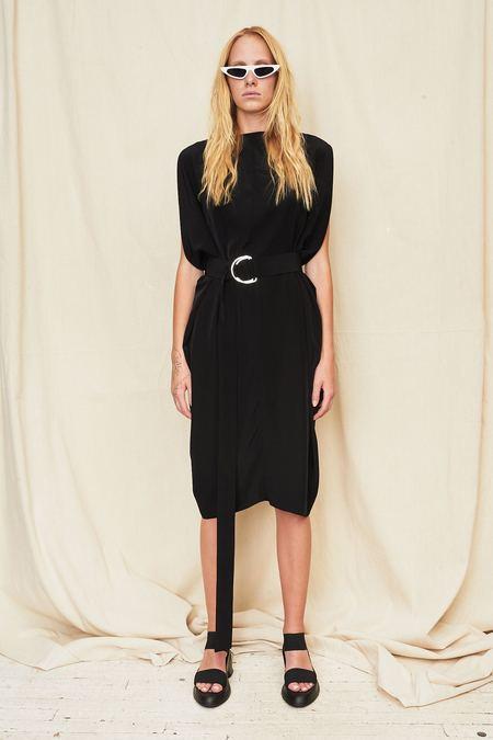 Assembly New York Silk Gemini Dress - Black