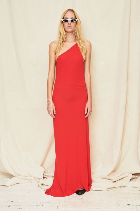 Assembly New York Single Strap Maxi Dress - Red