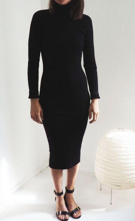 Baldwin Mallory Dress - Black