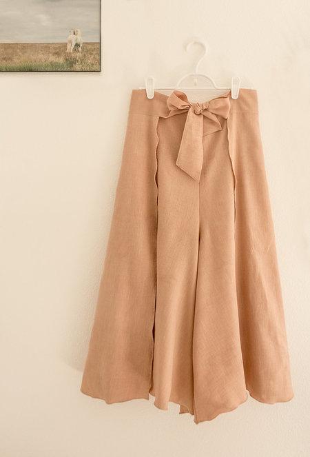 Petit Mioche Cropped Culottes - Adobe