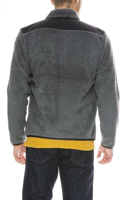 Outerknown Dusk Fleece Jacket - SMOKE