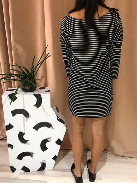 OBEY DORLAND DRESS - BLACK MULTI