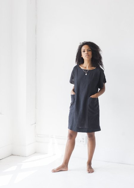 Sugar Candy Mountain - The Ophelia Dress in Black