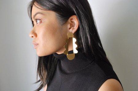 Annie Costello Brown Matisse Earrings