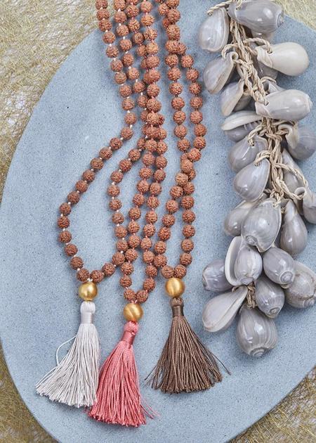 Shivaloka Buddah Earth Mala Necklace