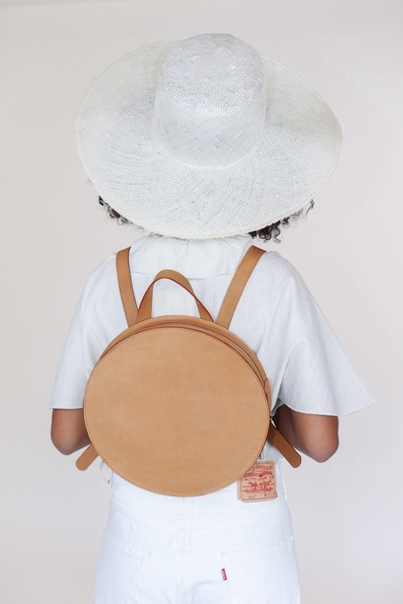 Minor History super moon round backpack