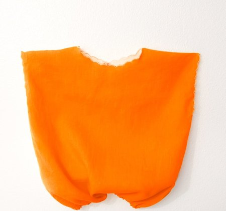 KIDS Petit Mioche reversible bicolore blouse - orange/natural