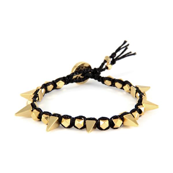 Ettika  Gold Spike Bracelet