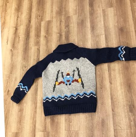 unisex Granted Clothing Wild Skiier Sweater - Multi