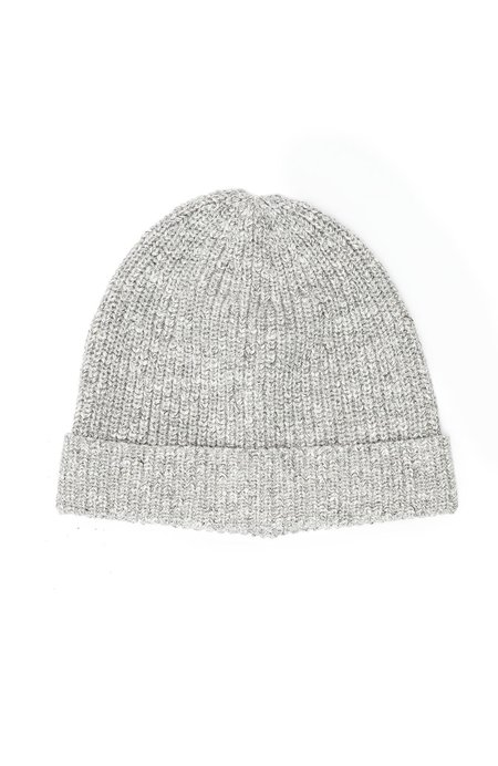 Outerknown Shelter Beanie - Heather Charcoal