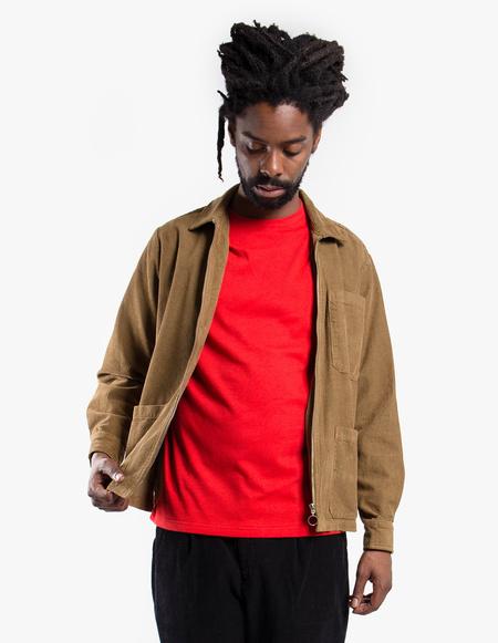 mfpen Zip Corduroy Shirt - Beige