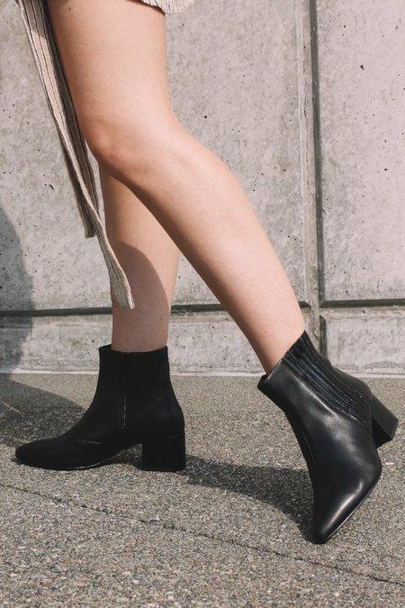 Vagabond Mya Leather Boots - Black