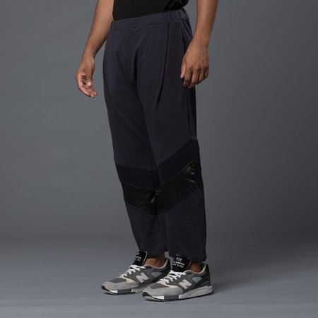 Willy Chavarria Hustler Track Pant - Washed Black
