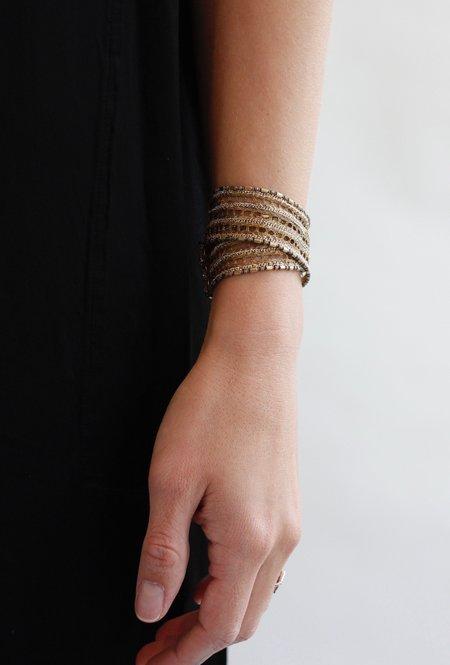 Marie Laure Chamorel 1A012 Bracelet - Bronze/Gold