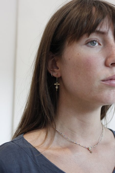 Marie Laure Chamorel MLS528 Earrings - Vermeil